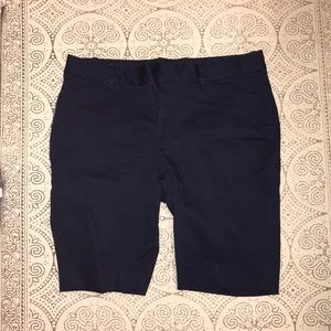 Dockers Navy Bermuda Shorts